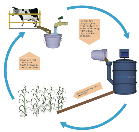 scheme biogas production