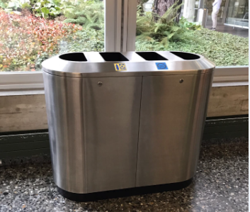 WKVW Recycling container