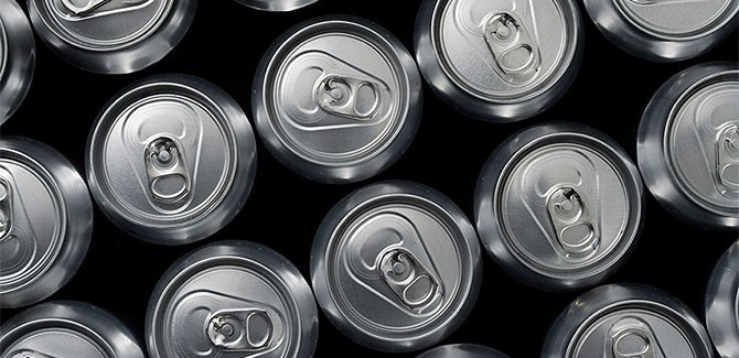 The life cycle of an aluminum can