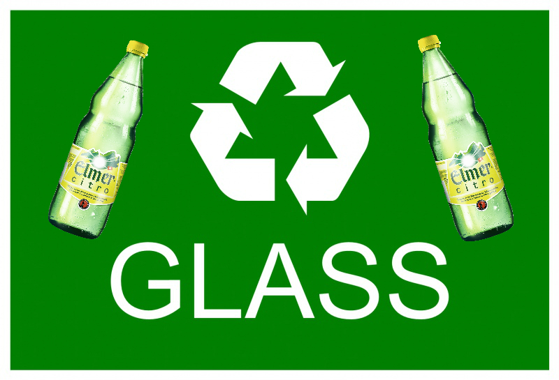 elmer bottle recycling graphics