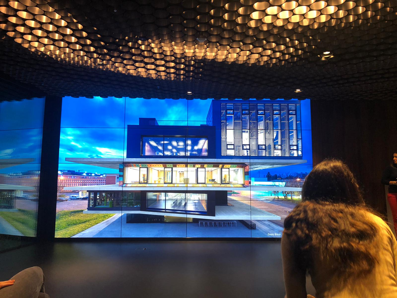 The presentation room