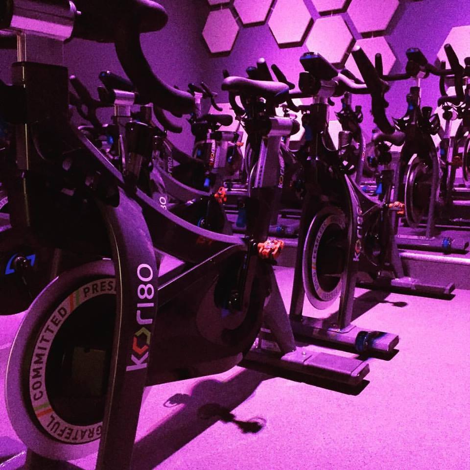 "The cardio machines of the ""Cadbury House Gym""."