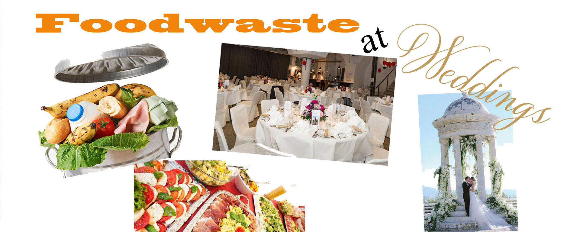 wedding foodwaste in CH and IND
