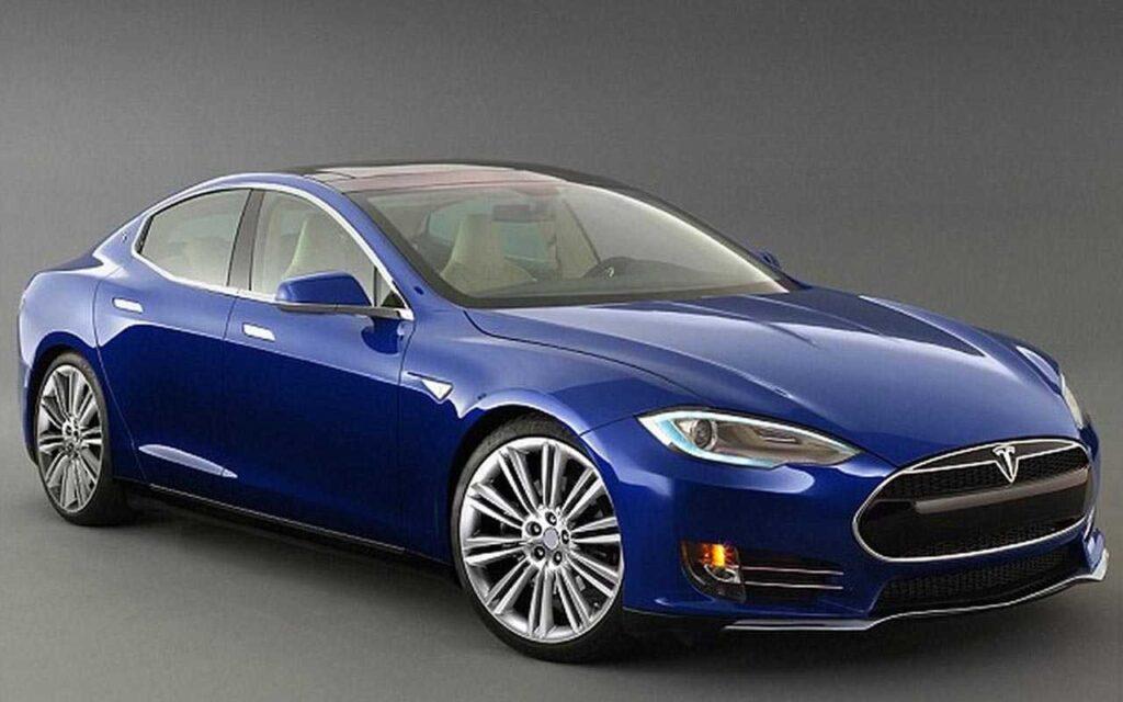 Tesla E-Car Model