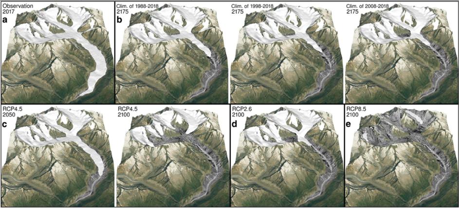 [1] Glacier melt process