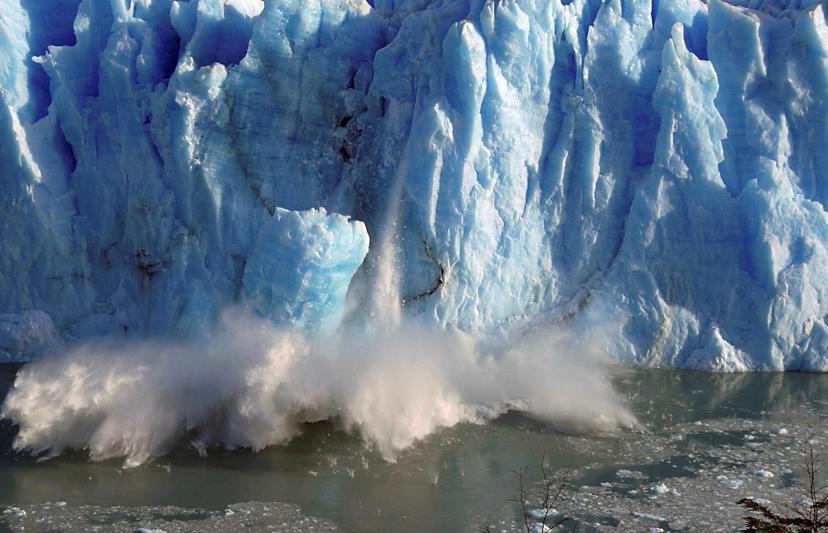 [2] Glacier melt